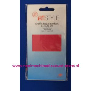 002568 / Reparatiedoek FEL ROSE 11 x 25 Cm