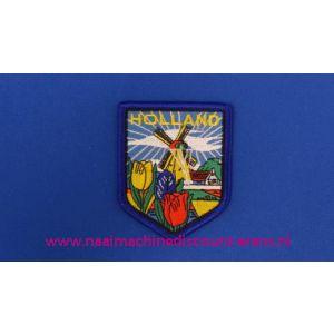 002780 / Holland Molen Tulpen Blauw schild