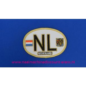 002787 / NL Kentekenplaat Oud Ovaal