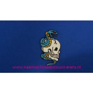 002790 / Doodskop met Blauwe Slang