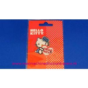 002820 / Hello Kitty Blauw Strik klein
