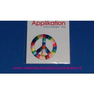 002821 / Peace Teken Multi Kleur