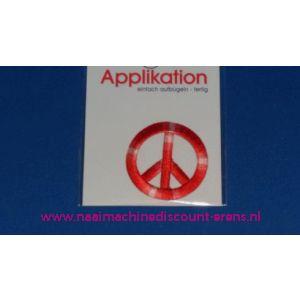 002826 / Peace Teken Rood