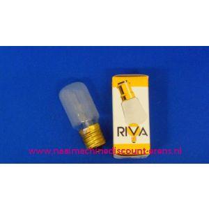 002907 / RIVA Schroefdraad E16 - 15 Watt