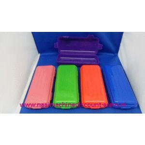 Haaknaalden koker plastic / 003003