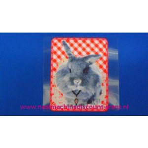 003032 / Rabbit Grey Monster