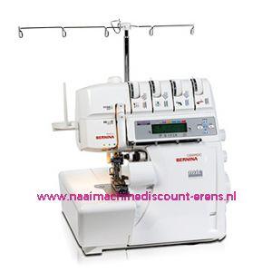 Bernina 1300 MDC lockmachine+GRATIS AFVALZAK+5 Jaar garantie / 003040
