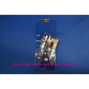 "003253 / Manicure set Luxe 4-delig ""blauw"""