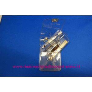"""003256 / Manicure set Luxe 4-delig """"wit"""""""