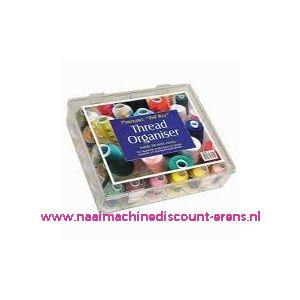"""003267 / Raiman Thread Organiser """"Tall Box"""" 30 Mini Cones"""
