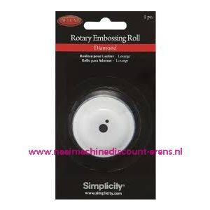 003458 / Simplicity Rotary Embossing Roll