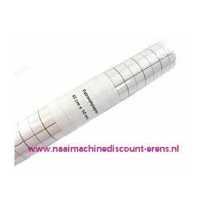 003462 / Patroonpapier geruit 80 Cm breed x 15 meter lengte