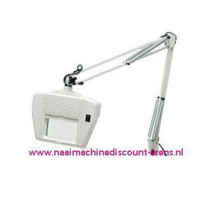 003596 / Loupelamp met schaararm van 99 Cm en wit TL-lamp