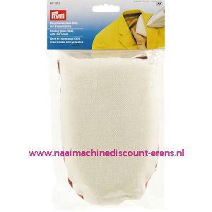Strijkhandschoen DUO met pluisjesborstel prym art. nr. 611913