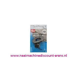 006028 / Draaisluiting voor op tassen donker zilver/zwart prym 417883