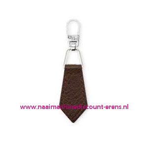 006164 / Fashion Zipper leder imitatie Bruin prym art. nr. 482351