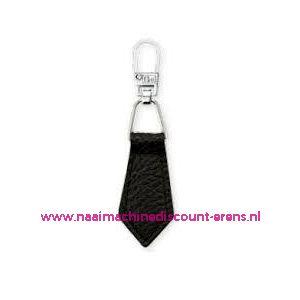 006165 / Fashion Zipper leder imitatie Zwart prym art. nr. 482352