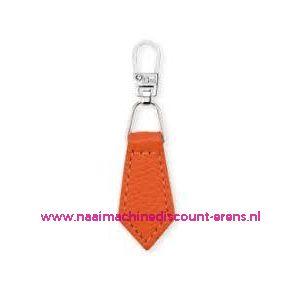 006169 / Fashion Zipper leder imitatie Oranje prym art. nr. 482354