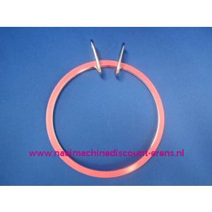 006353 / Borduurring Plastic Midden 13,5 Cm