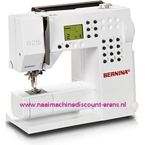 Bernina 215 + FREE GIFT + 5 Jaar garantie / 000888
