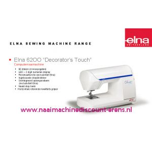 Elna 6200 + GRATIS SCHARENSET / 000916