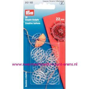 009308 / Knopen voor zelf te omhaken of anders prym art. nr. 312102
