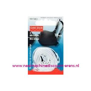 009424 / BH-Schouderband Wit 10 Mm prym art. nr. 991940