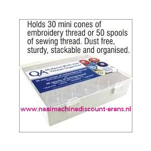 009600 / QA Thread Organiser 50 Spool Multi-Size