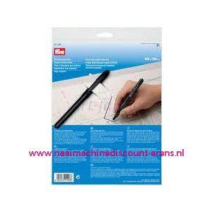 009608 / Kopieerfolie voor patronen prym art. nr. 611298