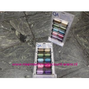 009634 / QA Thread 10 garenconen x 1000 M Modefashion Colour Pack