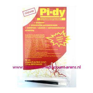 009777 / Pi-dy Patroonkopieerset 4 Bladen+ 1 Foliestift
