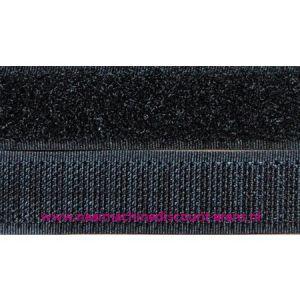 009949 / Klittenband 5 Cm kleur zwart voor te naaien